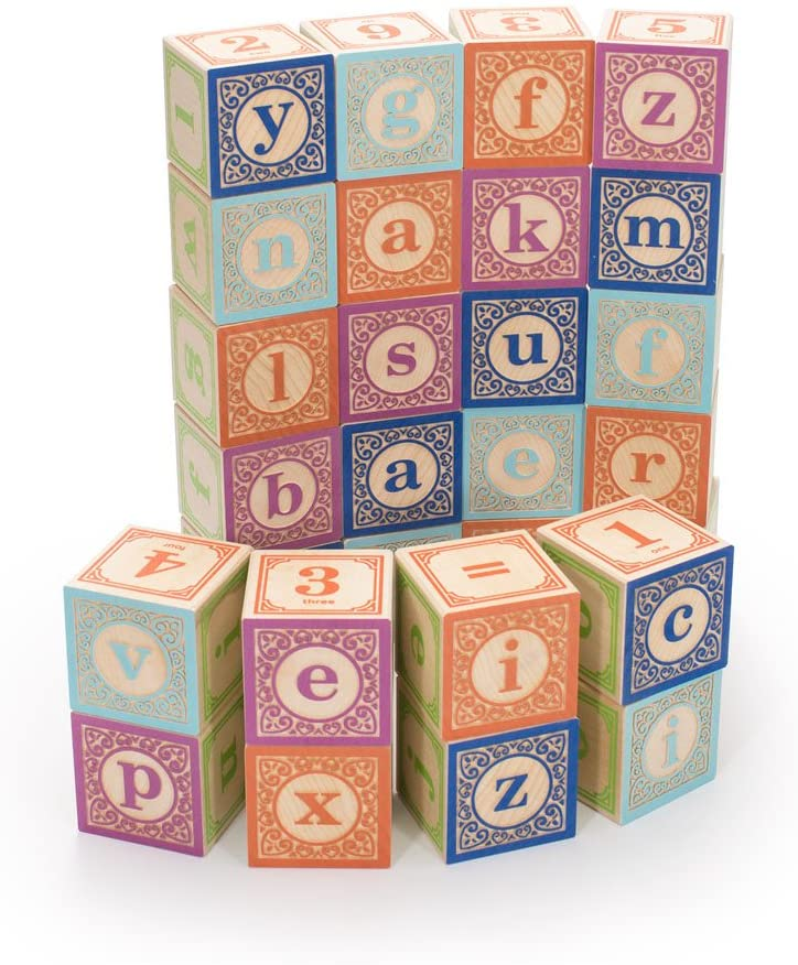 Uncle Goose Lowercase Alphabet Blocks