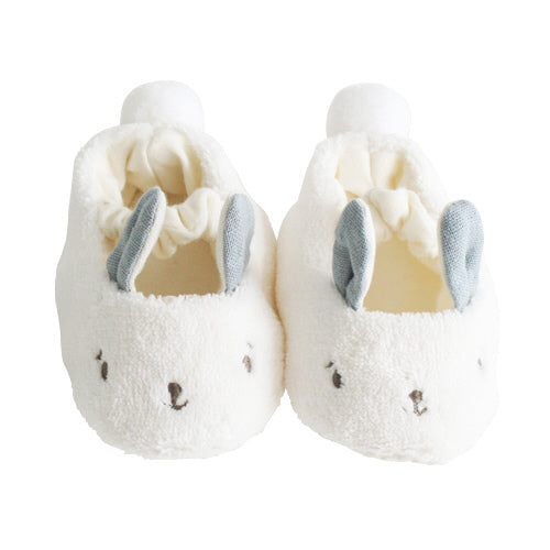 Alimrose Grey Snuggle Bunny Slippers
