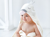 Swan Hooded Bath Wrap