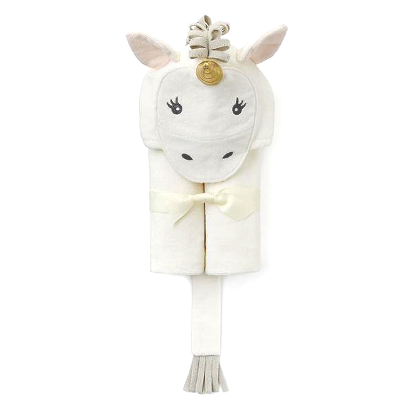 Unicorn Hooded Bath Wrap