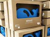 Whale Push Toy
