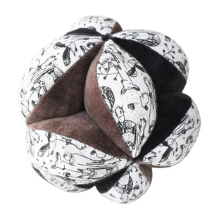 Wee Gallery Clutch Ball- Woodland