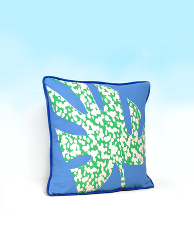 Jaguar Leaf Cushion
