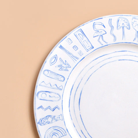 Painted Plates - Set No. 2