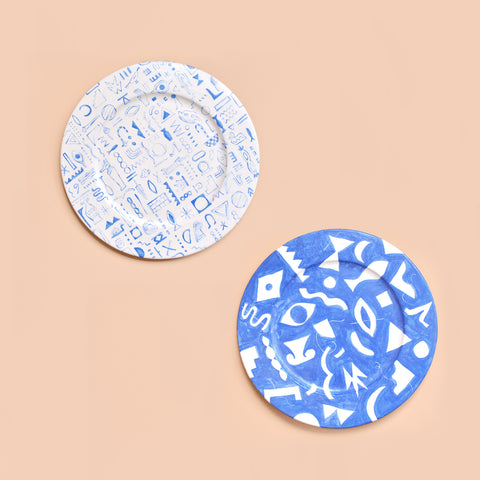 Painted Plates - Set No. 3