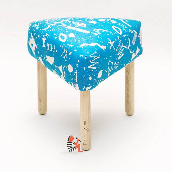 Splatter Footstool