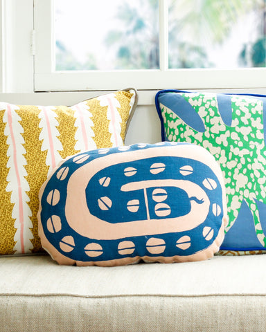 La Serpiente Cushion