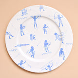 Painted Plates - Set No. 1