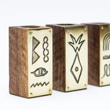 Hiero Pattern Candlestick Holder