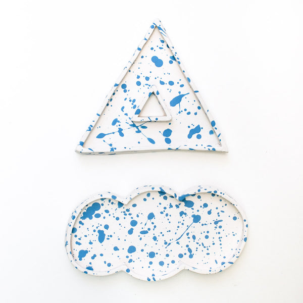 Pyramid Cloud Tray Set