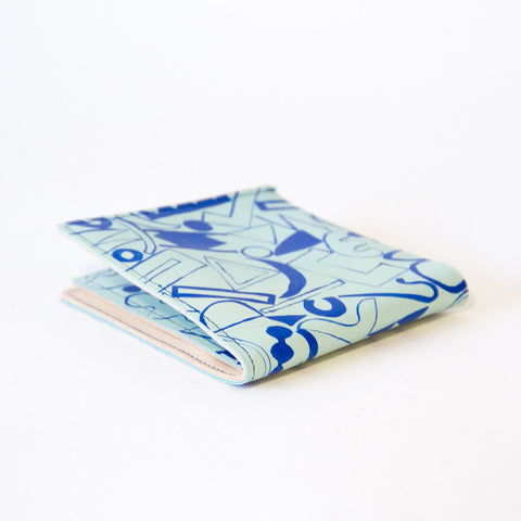 Hand-painted Scatter Wallet