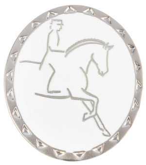 Broche con Jinete Dressage Happy Ross Rubin Ross Lopetzki