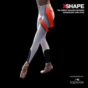 Pant. Dama Equiline X-Shape Full Grip