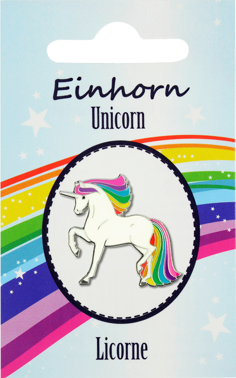 Pin de Unicornio Happy Ross Unicorn Lopetzki