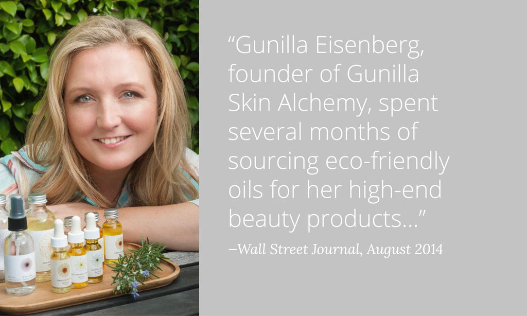 Gunilla Skin Alchemy voted best facials and best face oils. 100% pure, natural and organic. Better than botox.