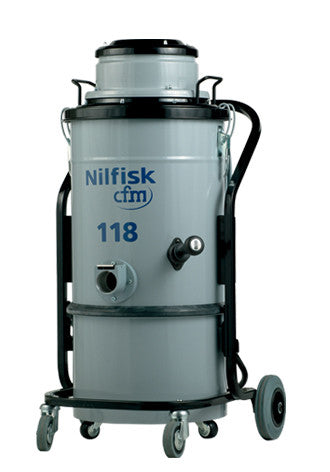 NilfiskCFM 118 Tough 1000 Watt Industrial Vacuum Cleaner Free Delivery Aust Wide!! - TVD The Vacuum Doctor