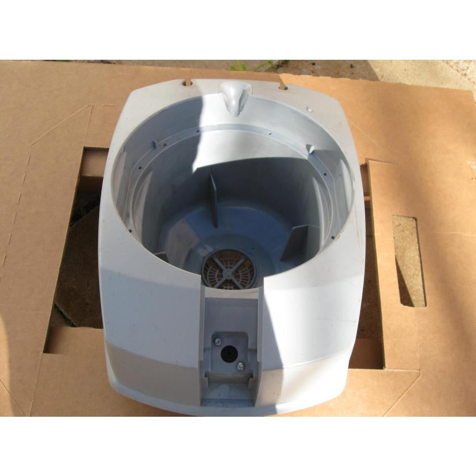 Nilfisk GD1005 and GD1010 Vacuum Cleaner Upper Container Part In Grey - TVD The Vacuum Doctor