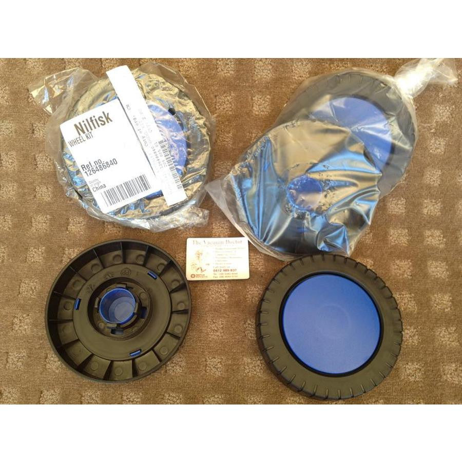 Nilfisk-ALTO Click and Clean Domestic Pressure Cleaner Blue Wheel Kit