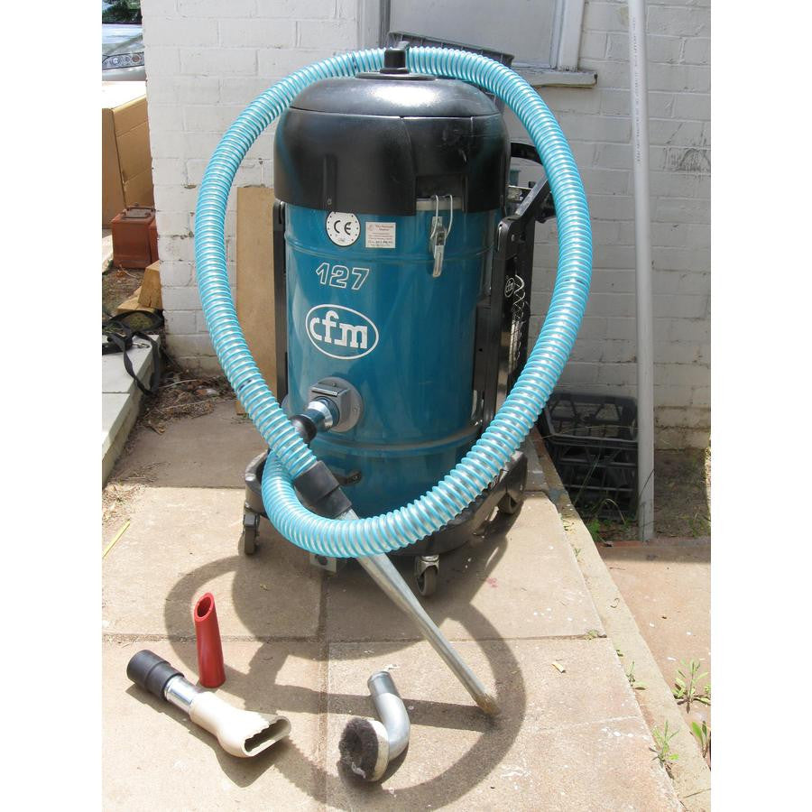 NilfiskCFM127 Industrial Vacuum Cleaner Replaced By The S2 This Page For Info Only - TVD The Vacuum Doctor