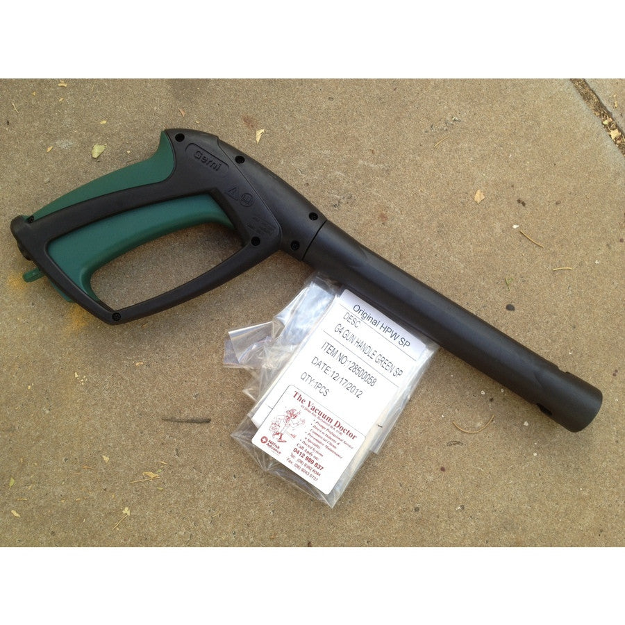 Gerni Click and Clean G4 Pressure Washer Gun Handle Green SP NLA - TVD The Vacuum Doctor