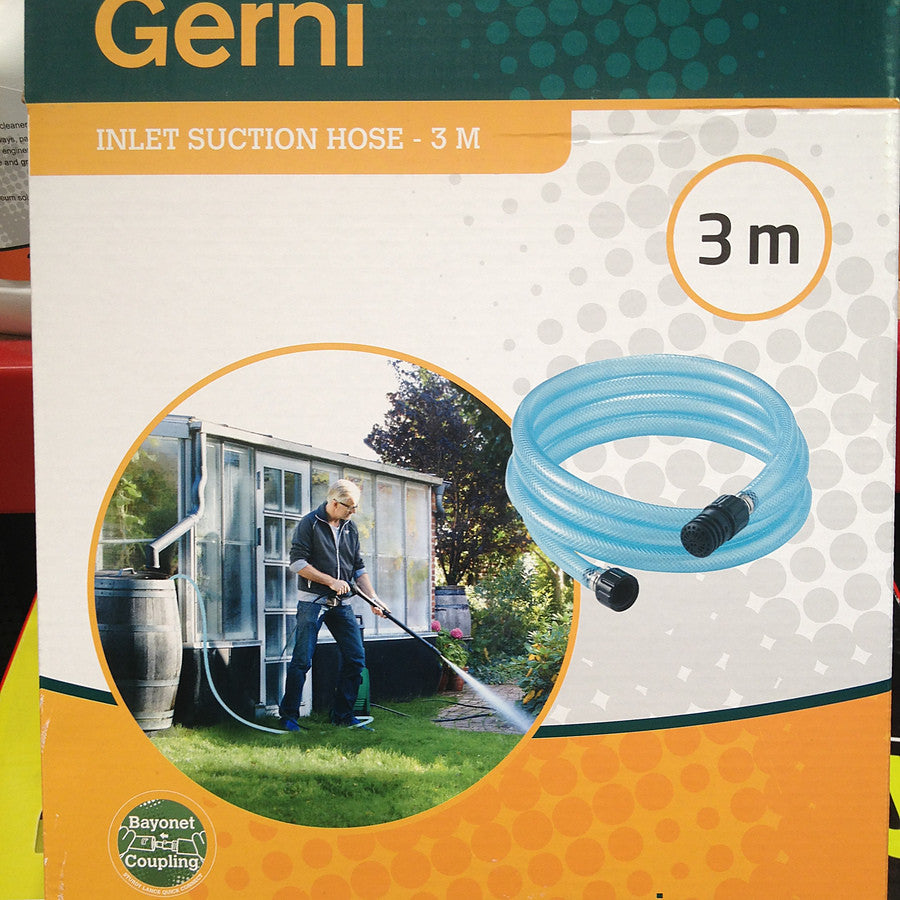 Gerni and Nilfisk-Alto 3M Inlet Suction Hose For Water Pick Up From Ponds Etc - TVD The Vacuum Doctor