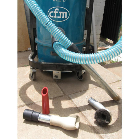 CFM127 137 and S2 S3 3m x 50mm Light Plastic Hose With Plastic Cuffs
