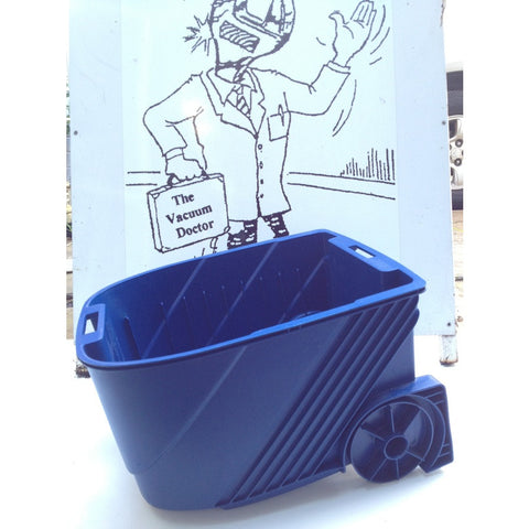 Electrolux Euroclean UZ934 Terrier Vacuum Dustbag Container In BLUE