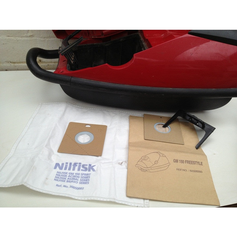 Nilfisk GM150 Freestyle Vacuum Cleaner Dustbags NO LONGER AVAILABLE SEE 30050002 - TVD The Vacuum Doctor