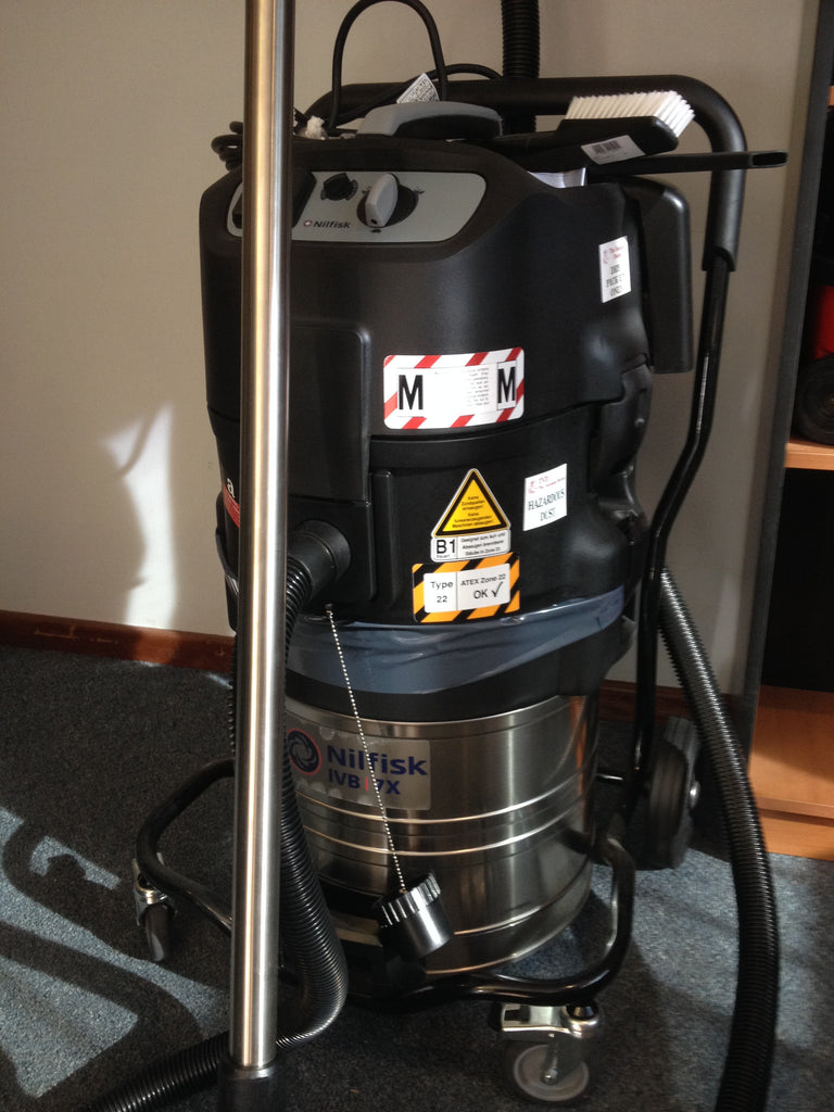 Nilfisk-Alto Attix 791-2M/B1Safety Vacuum Cleaner For ATEX Type 22 Environments - TVD The Vacuum Doctor