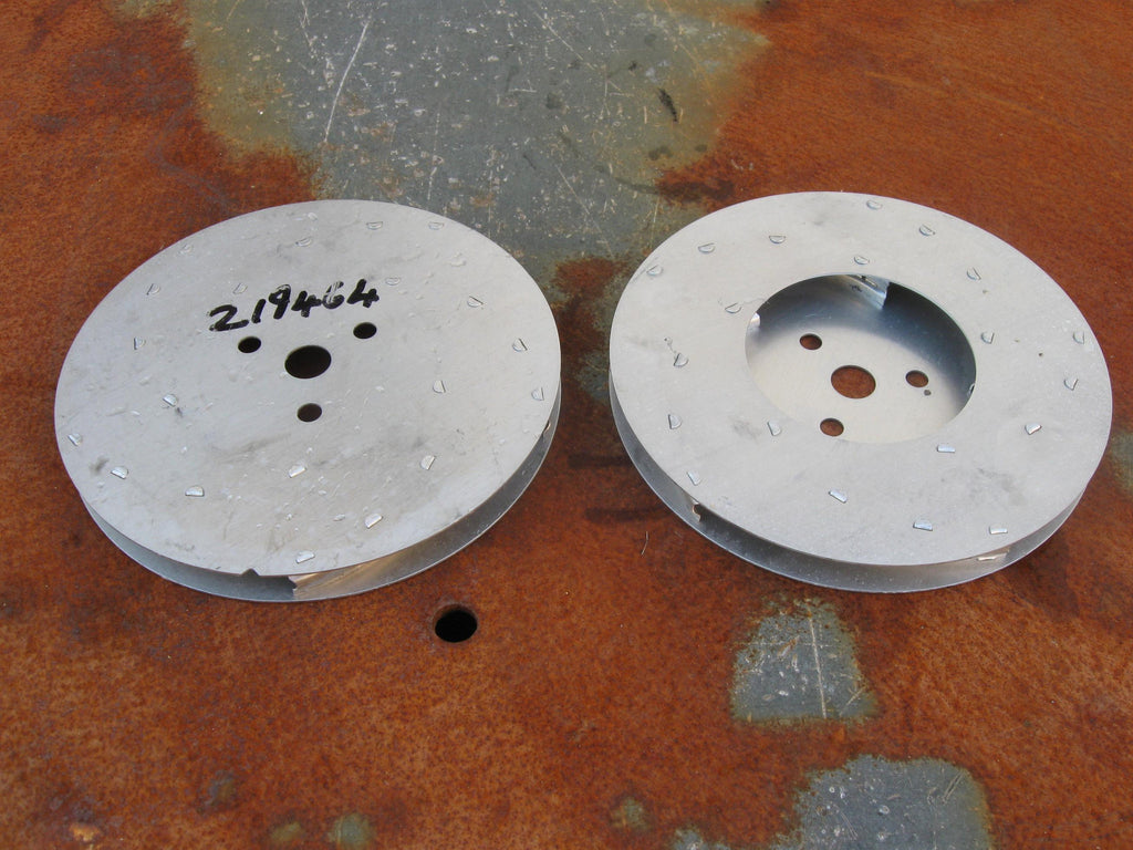 Nilfisk and Tellus GMI and GMD Vacuum Cleaner Motor Aluminium Rotary Fan Elements