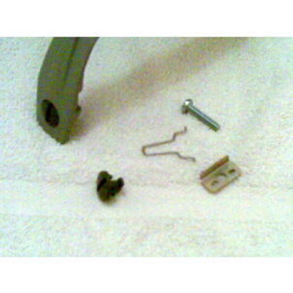 Nilfisk and Tellus GS and GM Vacuum Cleaner Motor Handle Locking Bracket - TVD The Vacuum Doctor