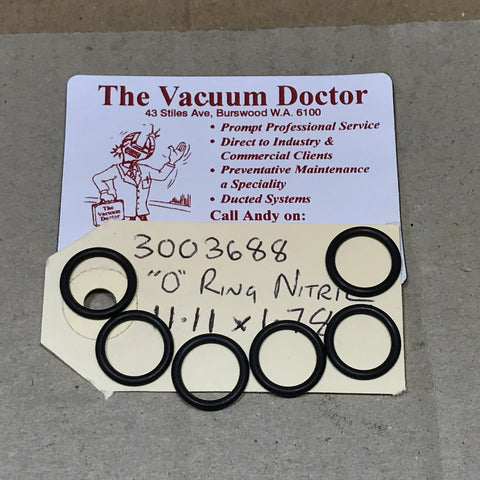 KEW 4050 XTRA Pressure Washer Cylinder Nitril O Ring 11.11 X 1.78 - TVD The Vacuum Doctor