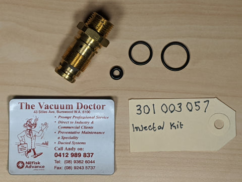 Brass Injector Kit for Gerni Poseidon 4 Pressure Washer