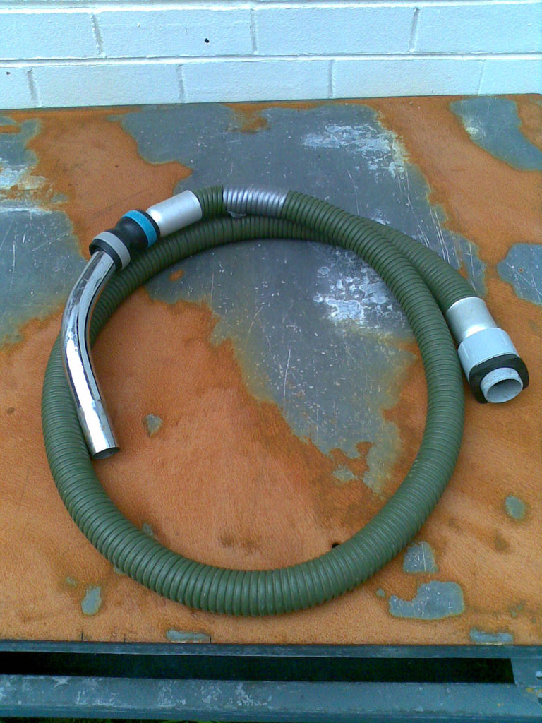 Nilfisk and Tellus Bare Green Rubber Reinforced Tapered Vacuum Hose 38-32mm - TVD The Vacuum Doctor