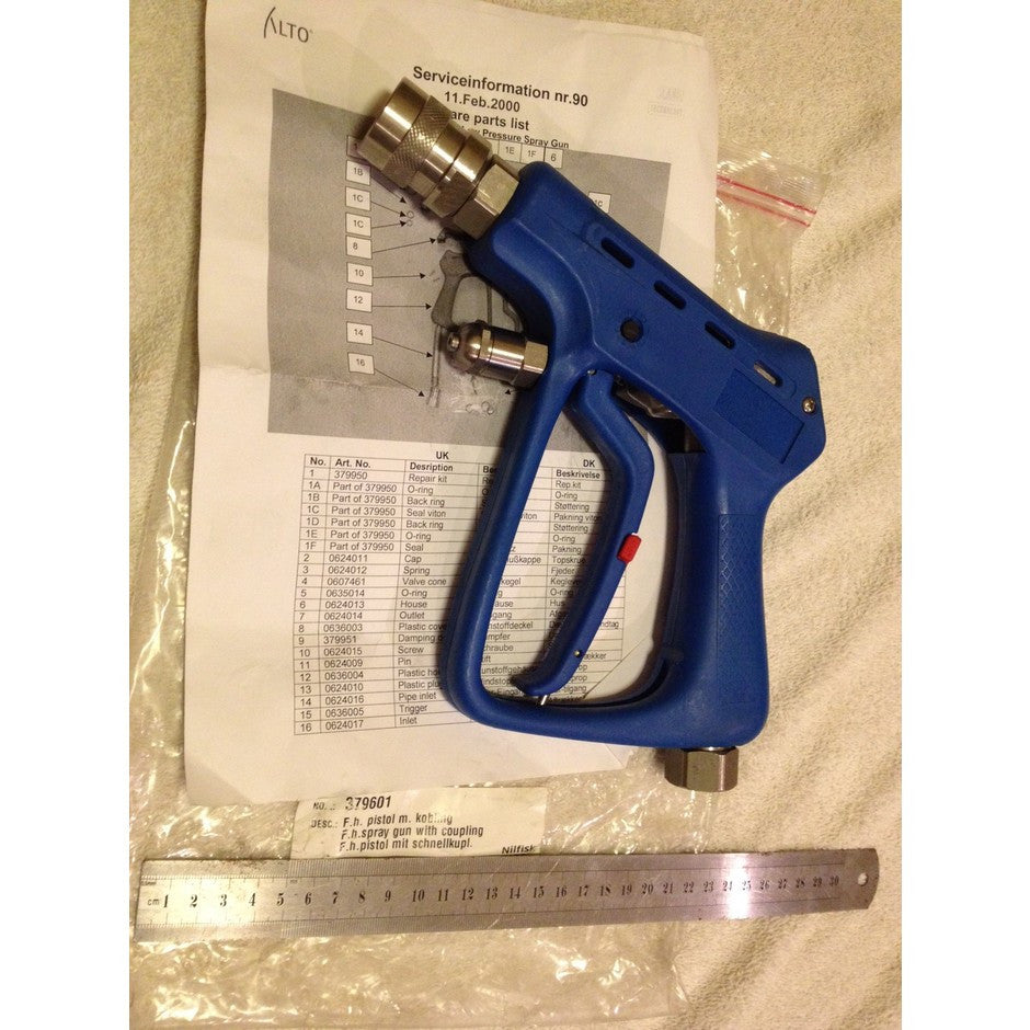 NilfiskFood Ecolab Food Industry Rated Spray Gun With Coupling USUALLY $1015!!