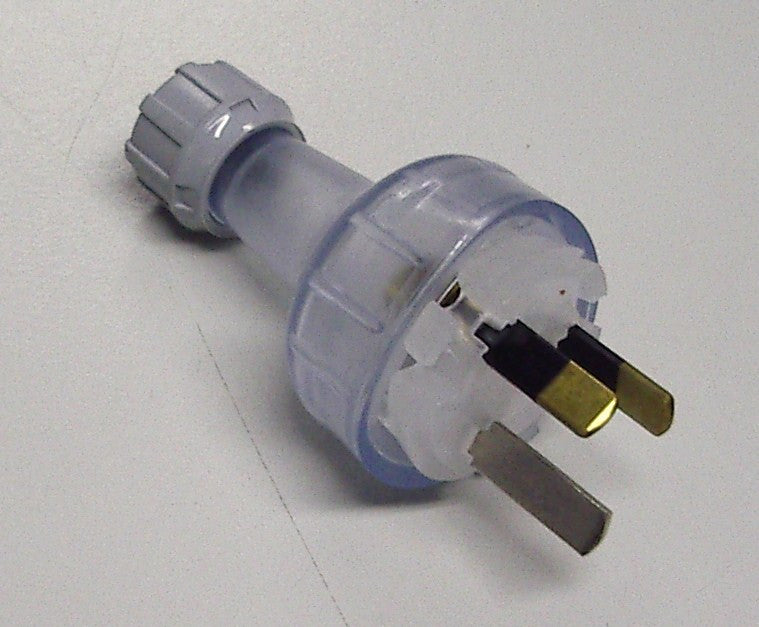 Clipsal 3 Pin 10 AMP Australian Re-wireable Replacement GPO Plug