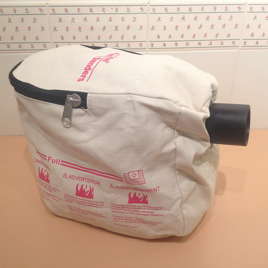 Clarke B-2 and Super 7 ASM Edger and Floor Sander Cloth Bag For Sawdust