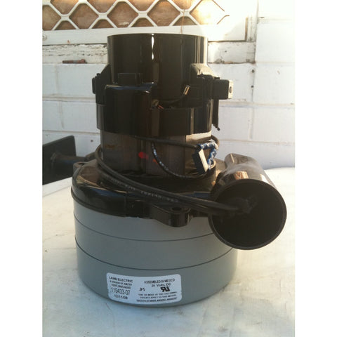 3 Stage Tangential Vacuum Motor For Nilfisk AX400 Carpet Extraction Machine NLA - TVD The Vacuum Doctor