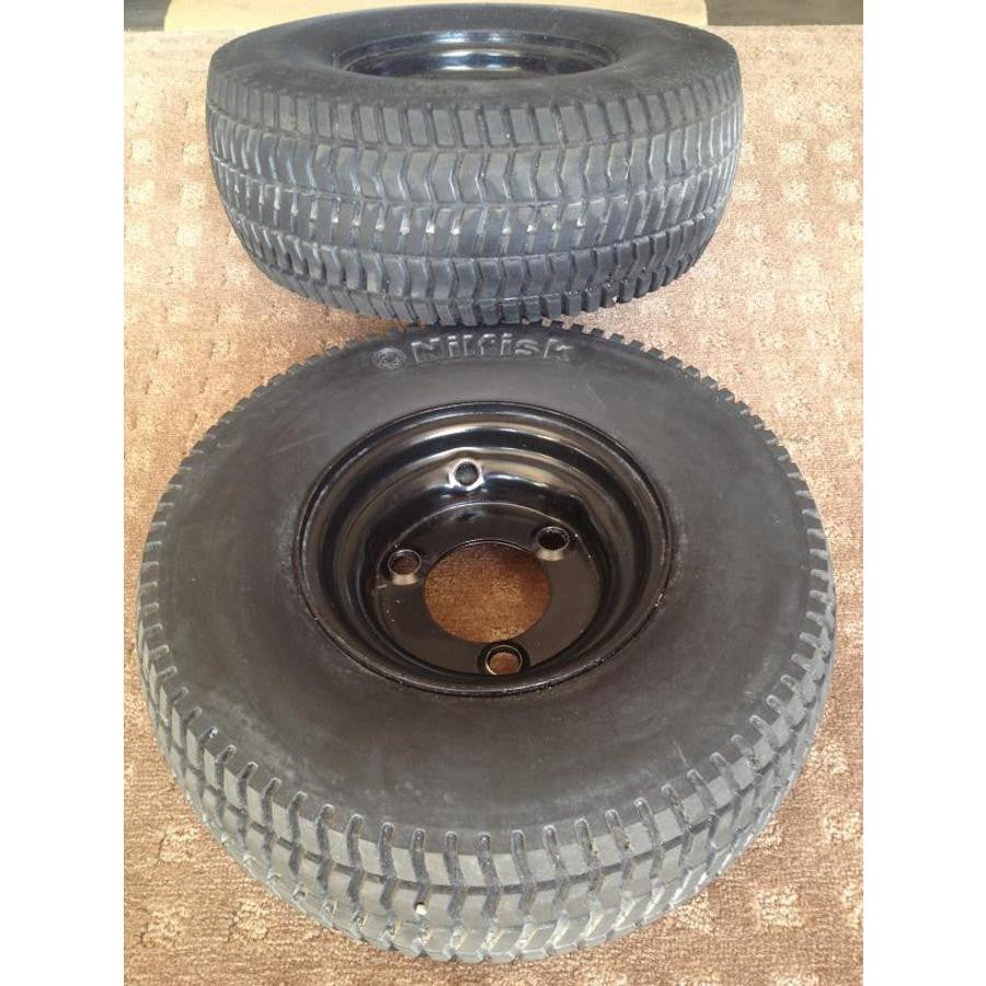 Nilfisk BA855ST and BA755ST and ALTO Focus Scrubber Wheel and Tyre