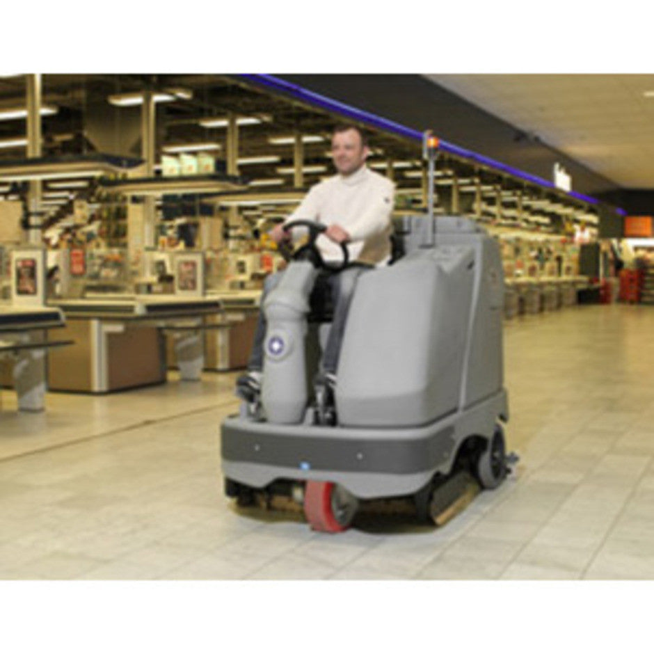 Nilfisk SCB BR1300S (DISC) Rider Scrubber-Drier Replaced By SC6500 1300D - TVD The Vacuum Doctor
