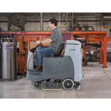 Nilfisk BR855 Battery Operated Rider Floor Scrubber Complete With FREE Freight!