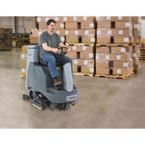 Nilfisk BR855 Battery Operated Rider Floor Scrubber Complete With FREE Freight! - TVD The Vacuum Doctor