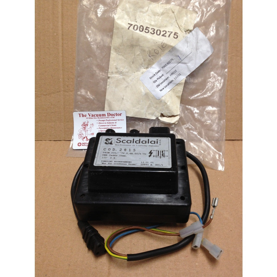 Scaldalai SC2815 Ignition Transformer For Hot Water Pressure Cleaner - TVD The Vacuum Doctor
