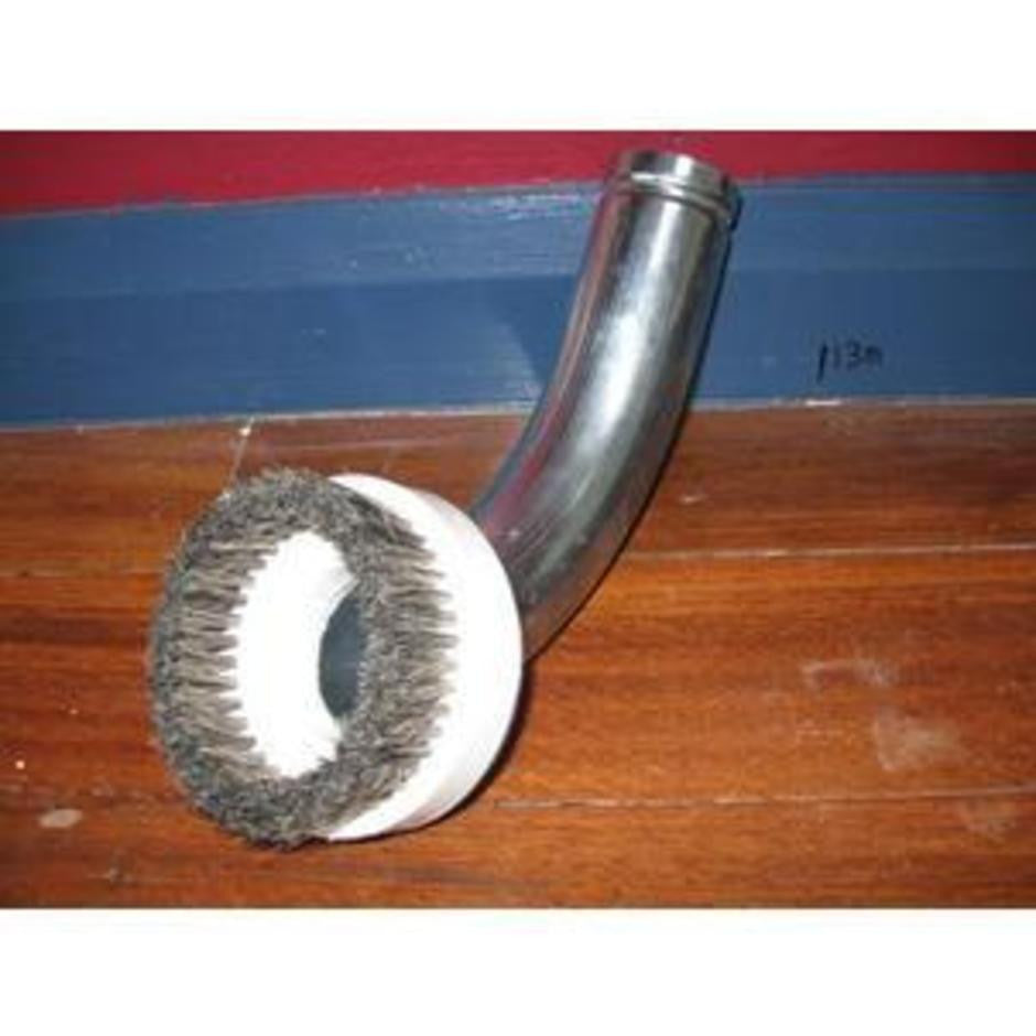 NilfiskCFM Industrial Vacuum Cleaner Steel Bristle Round Brush - TVD The Vacuum Doctor