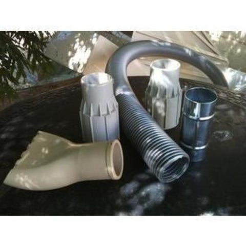 NilfiskCFM 127 137 S2 S3 Vacuum Cleaner 50mm Cream Coloured PVC Hose Cuff