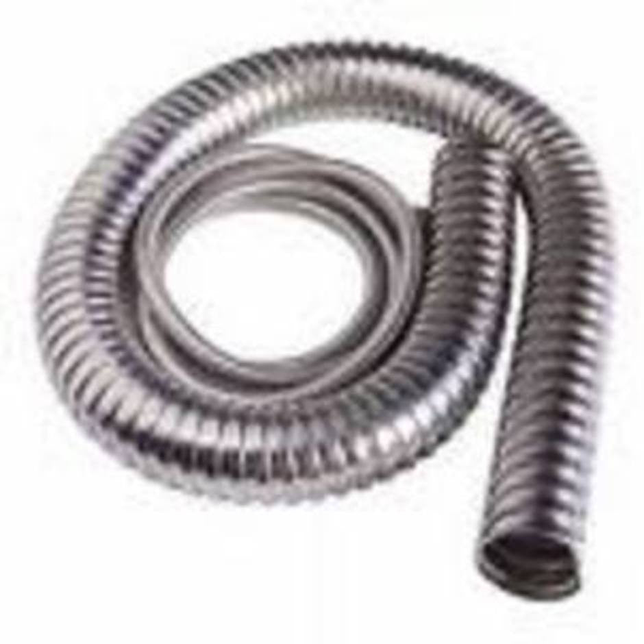 Nilfisk 70mm Steel Vacuum Cleaner Hose Per Metre Length For Hot Work - TVD The Vacuum Doctor
