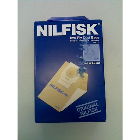 Nilfisk NewLine NF225 Vacuum Cleaner Dustbags 5 Pack With 2 Filters OBSOLETE