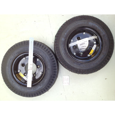 Nilfisk-ALTO 6150 Gas Powered Sweeper Rear Pnuematic Tyre 4 x 8 inch