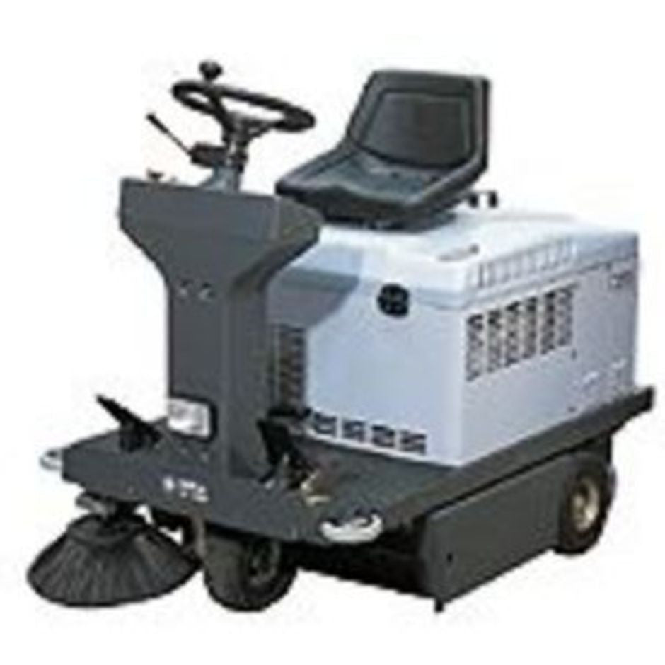 Nilfisk-Advance SR1100 Battery Powered Rider Sweeper UNAVAILABLE See SW4000 - TVD The Vacuum Doctor