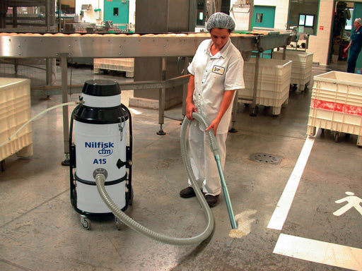 NilfiskCFM A15 Compressed Air Vacuum Cleaner For Areas Where Electricity Is Unavailable - TVD The Vacuum Doctor